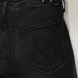 MOTHER Jeans - MOTHER the looker denim jeans Night Hawk